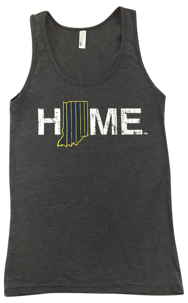 Indiana Tank | Pinstripes | Navy/Gold