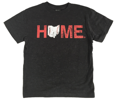 Ohio Youth Tee | Cincinnati Stitches | Red/White