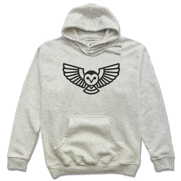 QUEEN CITY GROUNDS | FRENCH TERRY HOODIE | OWL