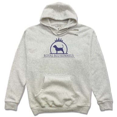 ROYAL BLU KENNELS | FRENCH TERRY HOODIE | LOGO