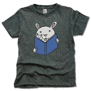 READ WITH ME | KIDS TEE | READING BUNNIES