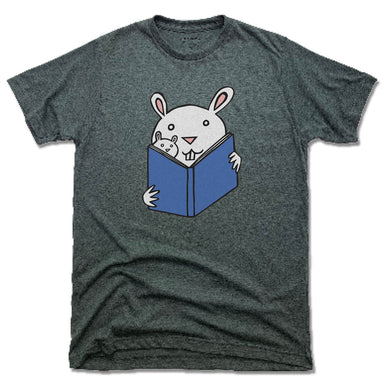 READ WITH ME | UNISEX TEE | READING BUNNIES
