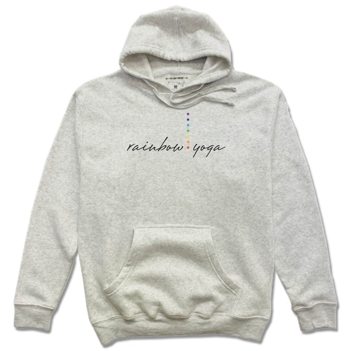 RAINBOW YOGA STUDIO | FRENCH TERRY HOODIE | LOGO