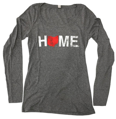 Ladies' Ohio Scoopneck | Red