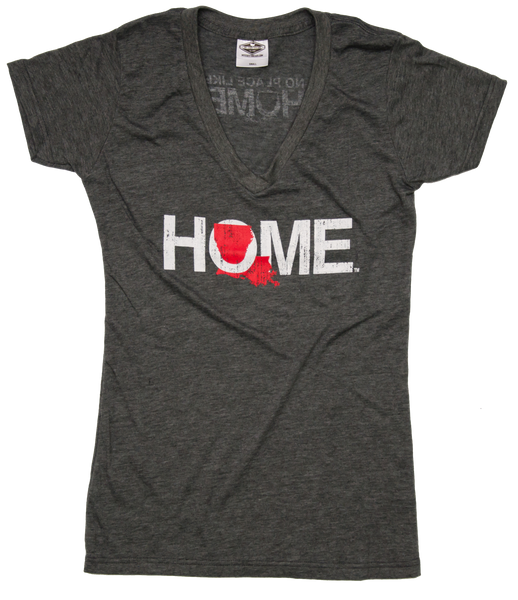 Ladies' Louisiana V-Neck | HOME | Red