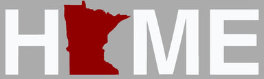 MINNESOTA STICKER | HOME | RED