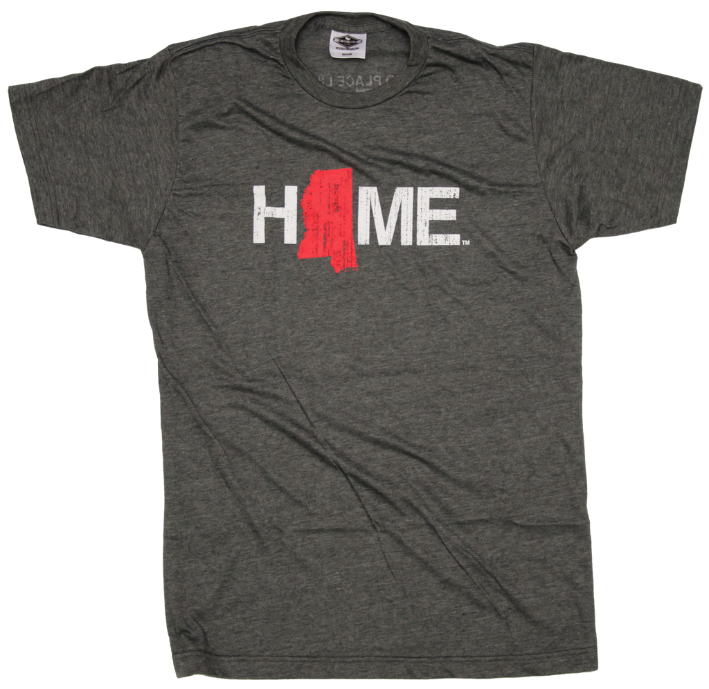 Mississippi Tee | HOME | Red