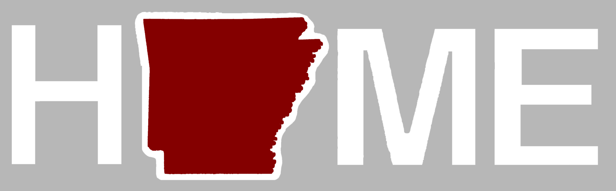 Arkansas Sticker | Red