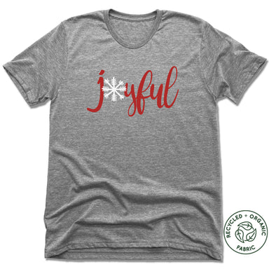 THE SISTER'S CLOSET | UNISEX GRAY Recycled Tri-Blend | JOYFUL