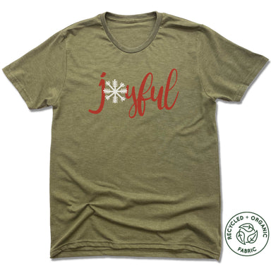THE SISTER'S CLOSET | UNISEX OLIVE Recycled Tri-Blend | JOYFUL