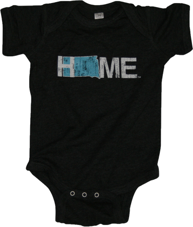 SOUTH DAKOTA ONESIE | HOME | BLUE