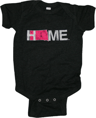 SOUTH DAKOTA ONESIE | HOME | PINK