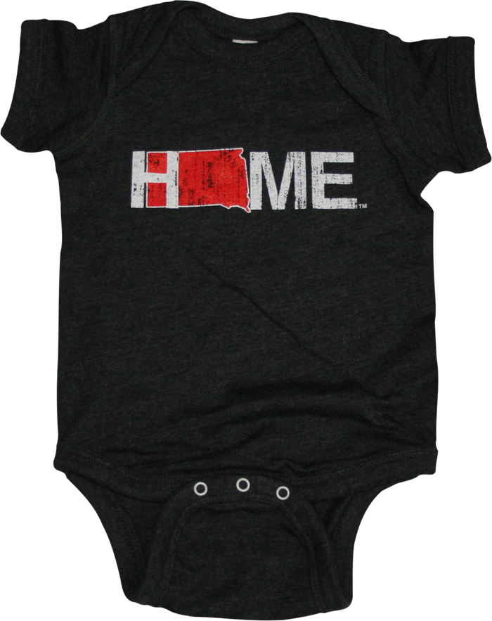 SOUTH DAKOTA ONESIE | HOME | SCARLET