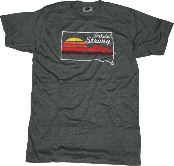 SOUTH DAKOTA TEE | DAKOTA STRONG | SUNSET