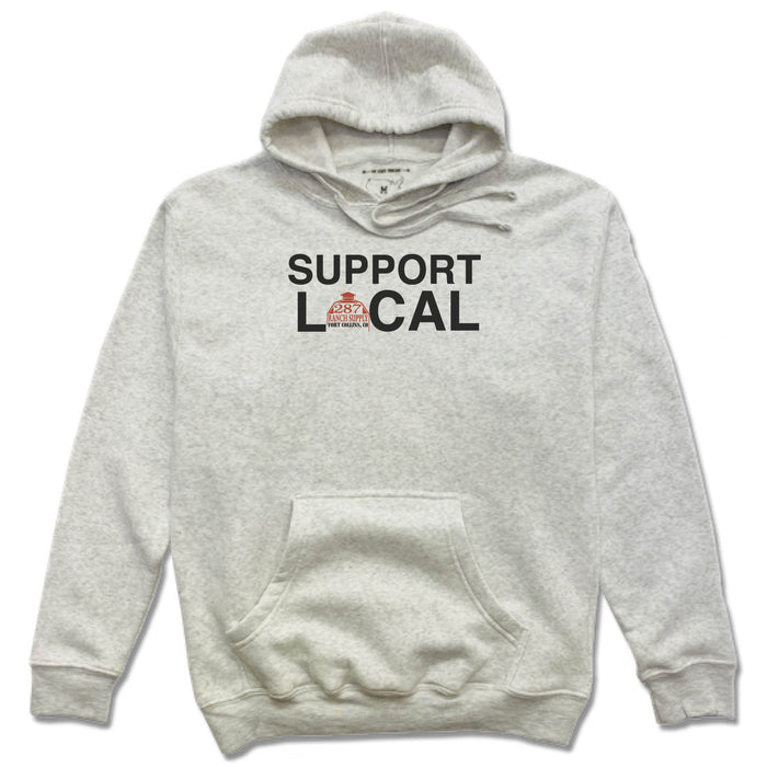 287 RANCH SUPPLY & BOUTIQUE | FRENCH TERRY HOODIE | SUPPORT LOCAL