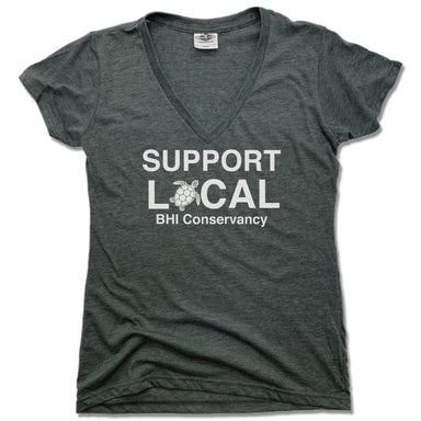 BHI CONSERVANCY | LADIES V-NECK | SUPPORT LOCAL