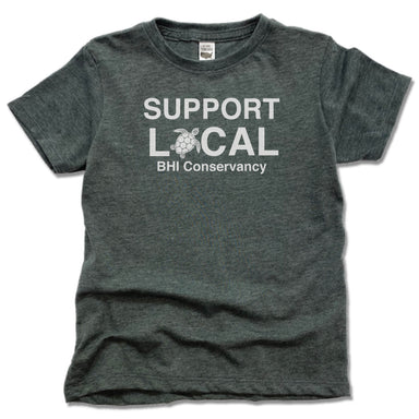 BHI CONSERVANCY | KIDS TEE | SUPPORT LOCAL