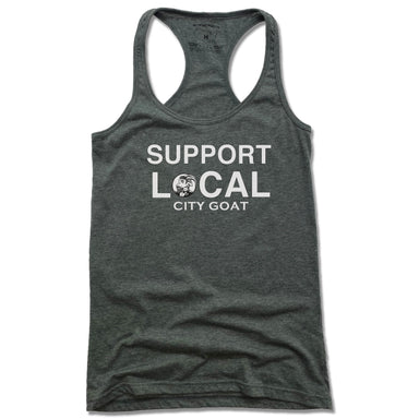 CITY GOAT | LADIES TANK | SUPPORT LOCAL