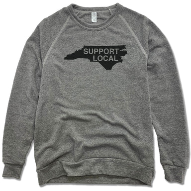 NORTH CAROLINA | FLEECE SWEATSHIRT | SUPPORT LOCAL