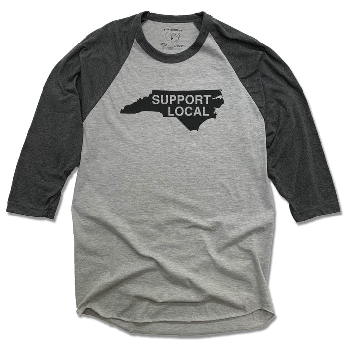 NORTH CAROLINA | 3/4 SLEEVE | SUPPORT LOCAL