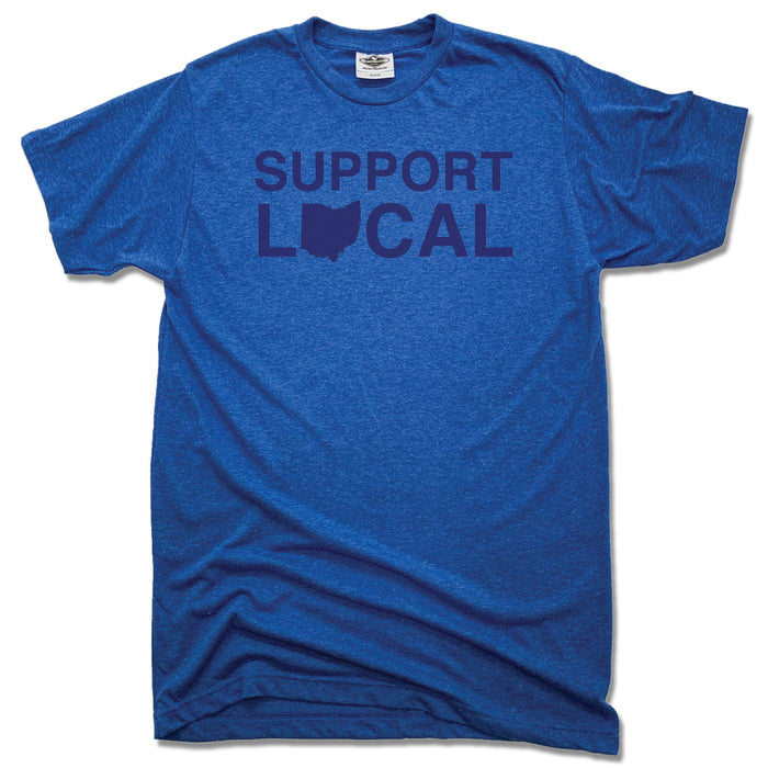 Support Local Ohio | UNISEX BLUE TEE