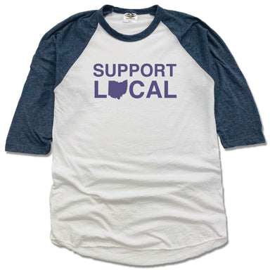 Support Local Ohio | 3/4 Sleeve