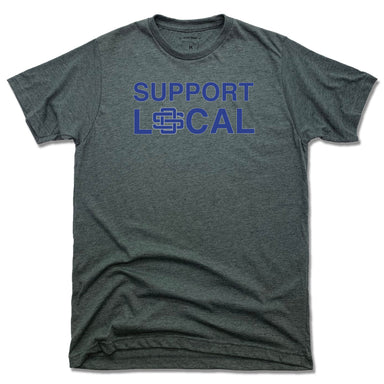 SUPPORT LOCAL | UNISEX TEE | OCEAN SPRINGS
