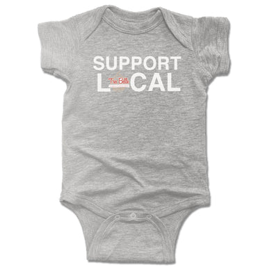 TRES BELLE | GRAY ONESIE | SUPPORT LOCAL