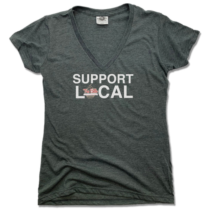 TRES BELLE | LADIES V-NECK | SUPPORT LOCAL