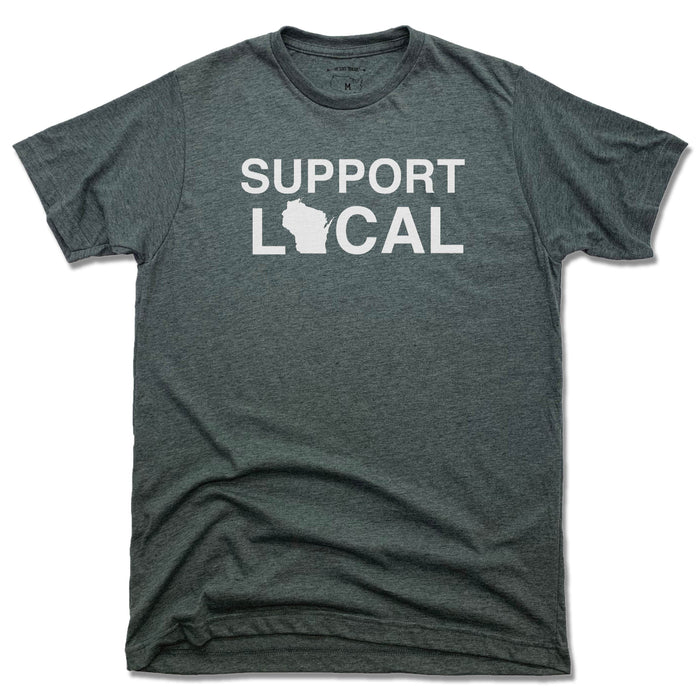Support Local Wisconsin | UNISEX TEE