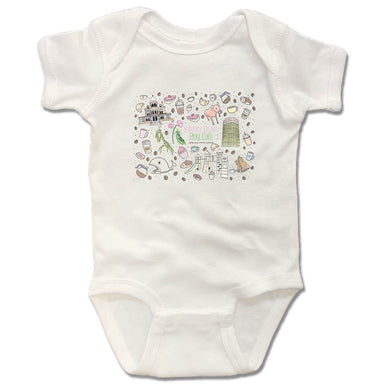 SWEET PEAS PLAY CAFE  | WHITE ONESIE | MURAL