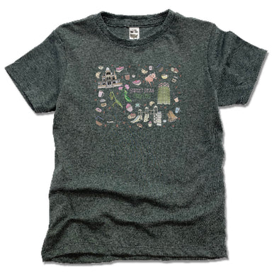 SWEET PEAS PLAY CAFE | KIDS TEE | MURAL