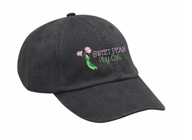 SWEET PEAS PLAY CAFE | HAT | LOGO