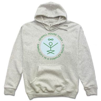 SEWALL HOUSE YOGA RETREAT | HOODIE | GREEN LOGO