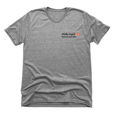 MOLLY FAYE'S | UNISEX GRAY Recycled Tri-Blend | DESIGN