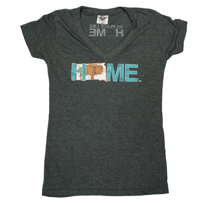 SOUTH DAKOTA LADIES V-NECK | HOME | BISON