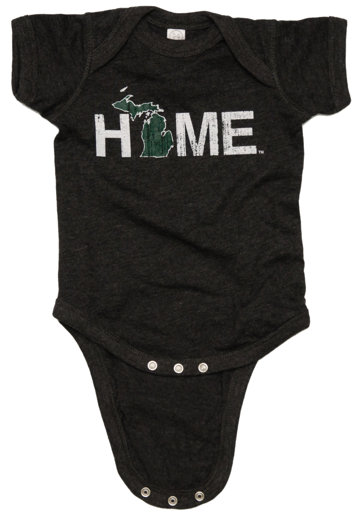 MIGHIGAN ONESIE | HOME | GREEN/WHITE