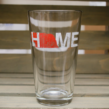 NEBRASKA PINT GLASS | HOME | RED