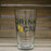 WISCONSIN PINT GLASS | DRINK LOCAL | GREEN/YELLOW