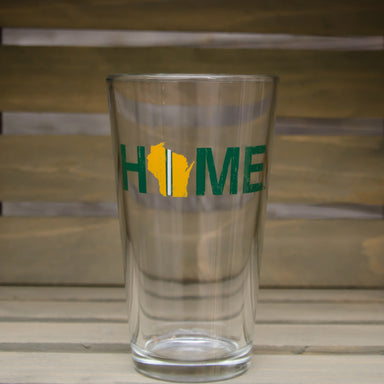 WISCONSIN PINT GLASS | HOME | GREEN/YELLOW STRIPE