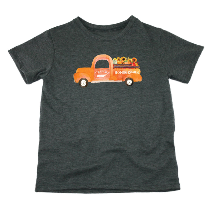 Tennessee Fall Homegrown Truck - Kids' Tee