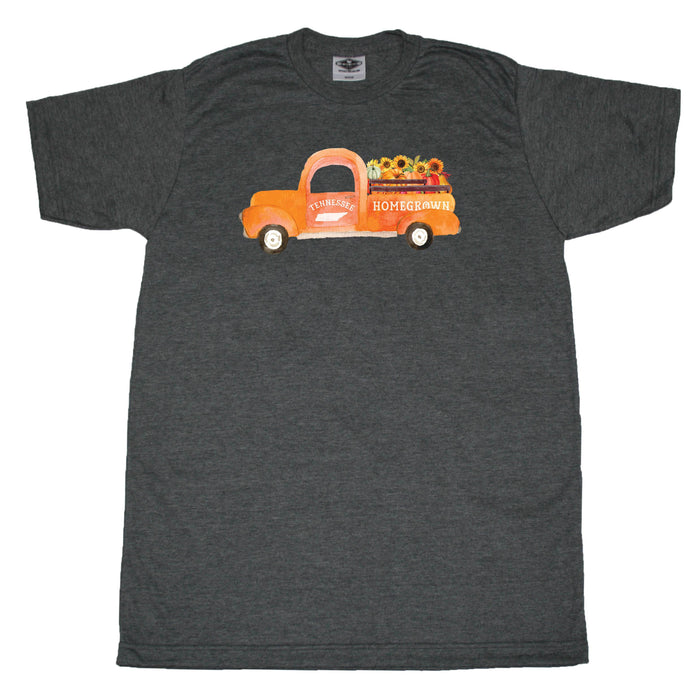 Tennessee Fall Homegrown Truck - Unisex Tee