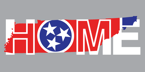 TENNESSEE STICKER | HOME | FLAG