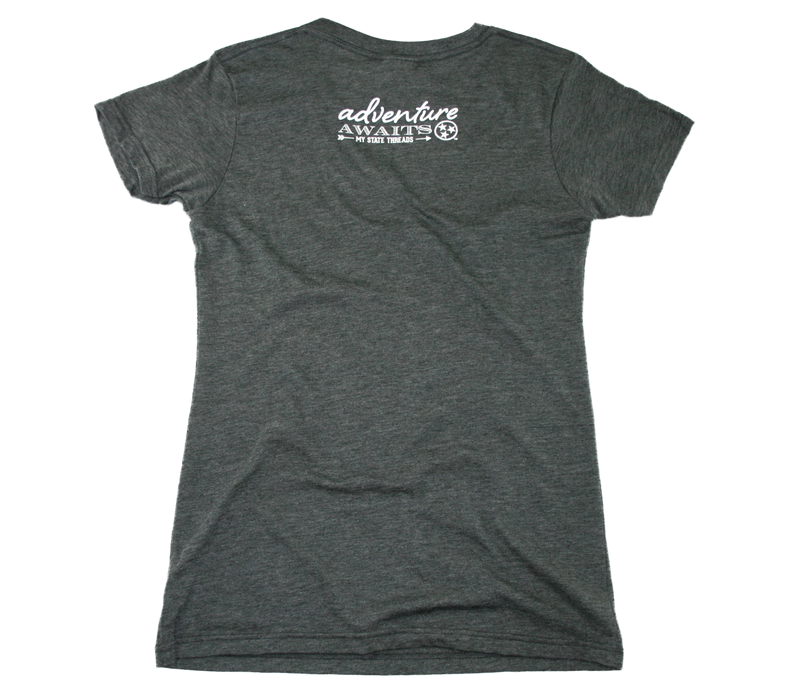 TENNESSEE LADIES V-NECK | EXPLORE | STAR