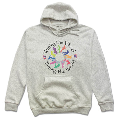 TURNING THE WHEEL PRODUCTIONS | HOODIE | BLACK LOGO