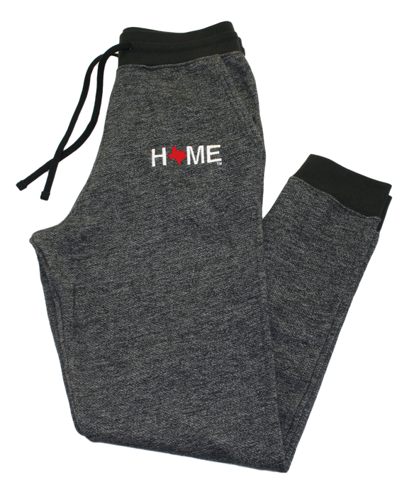 TEXAS FLEECE JOGGER | HOME | RED