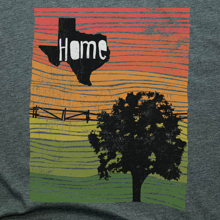TEXAS | UNISEX TEE | HOME LINE ART