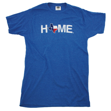 TEXAS BLUE TEE | HOME | FLAG