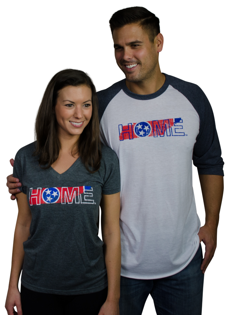 TENNESSEE LADIES V-NECK | HOME | FLAG