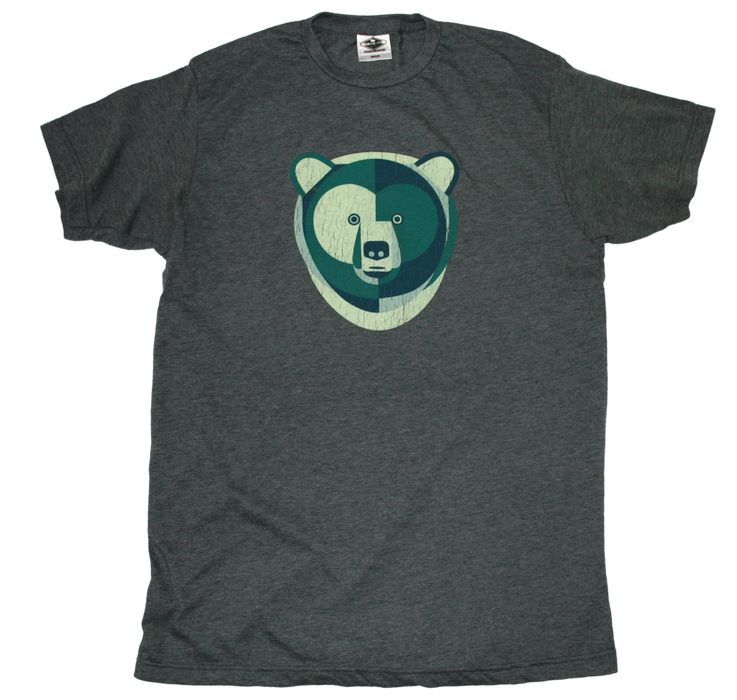 ALL STATES TEE | GEOMETRIC BEAR | GREEN